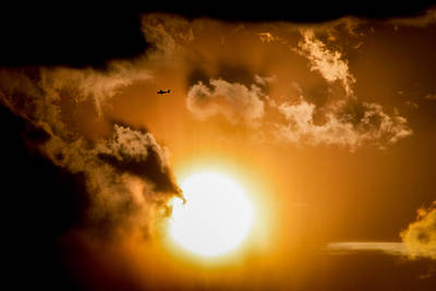 Photograph - Jabiru Sunset Cloud by Paul Job