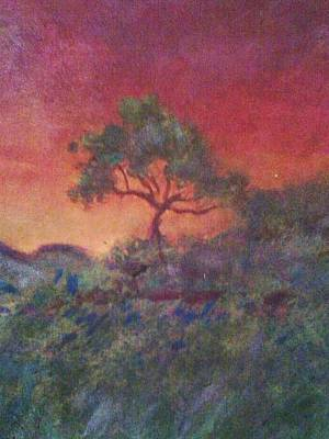 Jacaranda Tree Art Print by Joy Gilley
