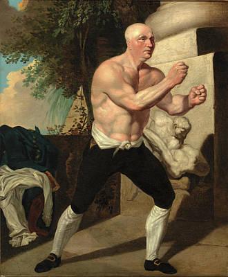 Jack Broughton, The Boxer, John Hamilton Mortimer Art Print