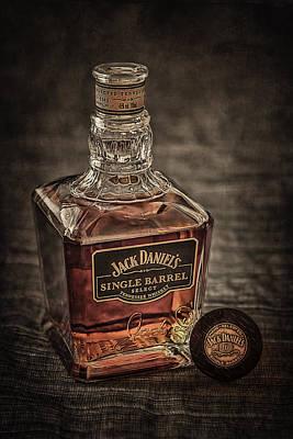 Taste Photograph - Jack Daniel's Single Barrel by Erik Brede