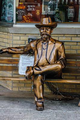 Photograph - Jack Daniel's Statue by Robert Hebert