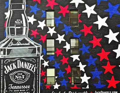 Jack Daniel's Wall Art Art Print by Joan Reese