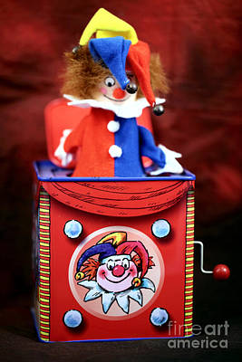 Music Box Photograph - Jack In The Box by John Rizzuto
