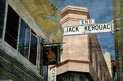 Jack Kerouac Alley And Vesuvio Pub Art Print