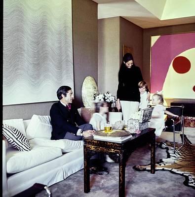 Photograph - Jack Lionel Warner At Home by Horst P. Horst
