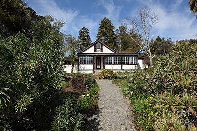 Jack London Cottage 5d22120 Art Print by Wingsdomain Art and Photography