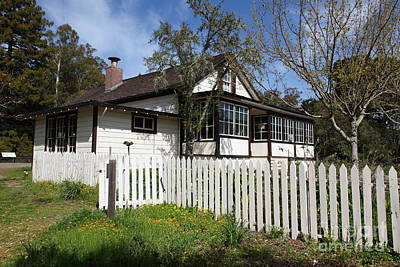 Jack London Cottage 5d22122 Art Print by Wingsdomain Art and Photography