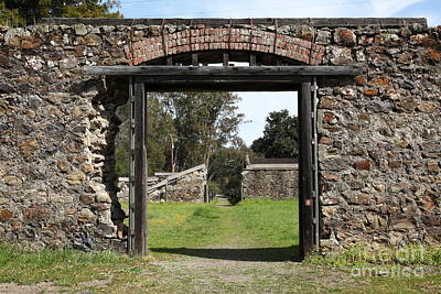 Jack London Ranch Winery Ruins 5d22128 Art Print by Wingsdomain Art and Photography
