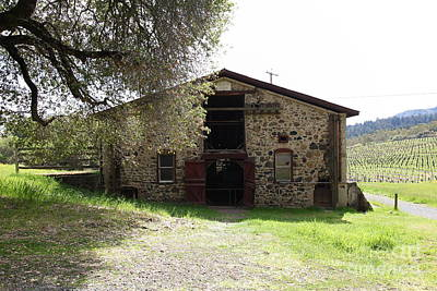 Photograph - Jack London Sherry Barn 5d22069 by Wingsdomain Art and Photography