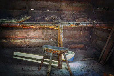Photograph - Jack London's Log Cabin by Bill Owen