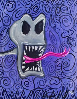 Painting - Jack by Marisela Mungia
