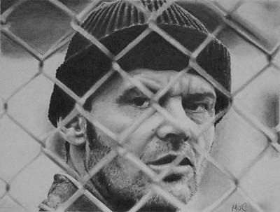Jack Nicholson Drawing - Jack by Mike OConnell
