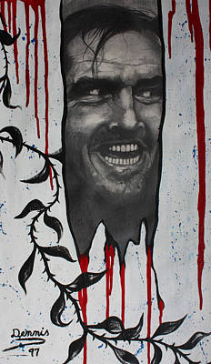 Jack Nicholson Mixed Media - Jack Nicholson by Dennis Nadeau