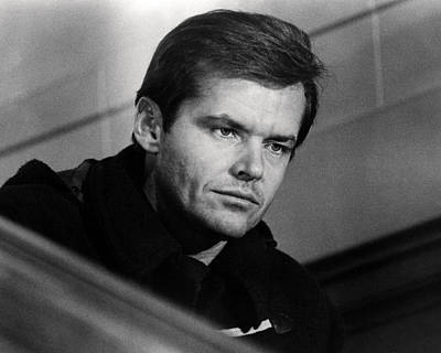 Jack Nicholson Photograph - Jack Nicholson In Five Easy Pieces  by Silver Screen