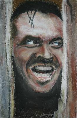 Jack Nicholson Painting - Jack Nicholson 'the Shining' by Noel Armstrong