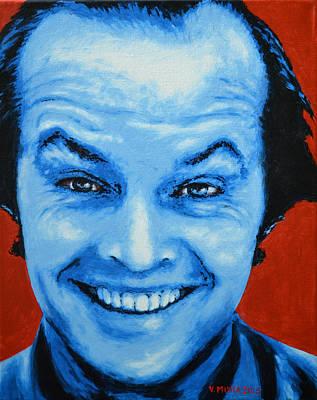 Jack Nicholson Painting - Jack Nicholson by Victor Minca