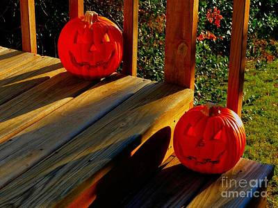 Photograph - Jack O Lanterns by Janette Boyd