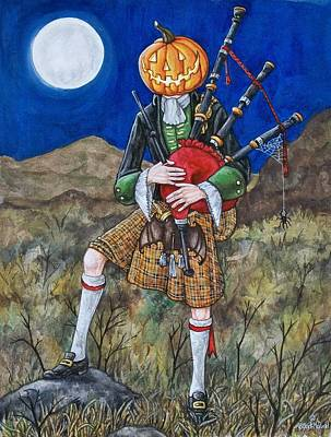 Painting - Jack O Piper by Beth Clark-McDonal