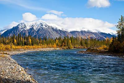 Jack River Alaska Art Print