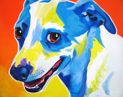 Jack Russell - Skippy Art Print by Alicia VanNoy Call