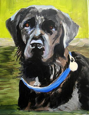 Painting - Jack The Lab by Edith Hunsberger