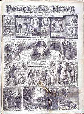 Jack The Ripper Art Print by British Library