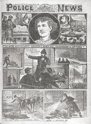 Jack The Ripper Murders, 1888 Art Print