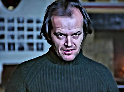 Painting - Jack Torrance by Florian Rodarte