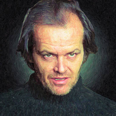 The Shining Painting - Jack Torrance by Taylan Apukovska