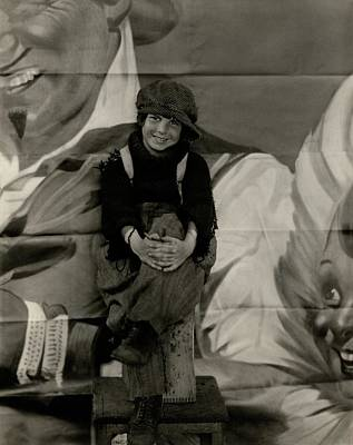 Jackie Coogan Dressed As His Character Tim Kelly Art Print by Edward Steichen