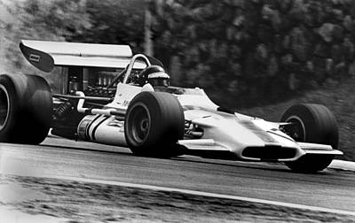 Canadian Grand Prix Photograph - Jackie Oliver Brm by Mike Flynn