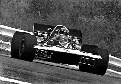 Canadian Grand Prix Photograph - Jackie Stewart Tyrrell by Mike Flynn