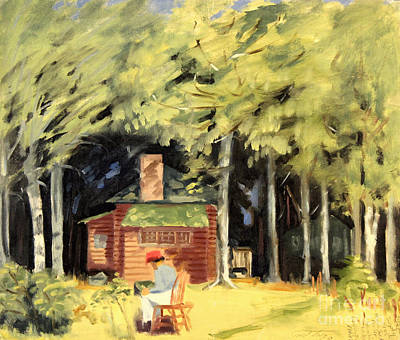 Painting - Jack's Cabin 1945 by Art By Tolpo Collection