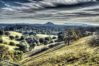 Amador Photograph - Jackson Butte From Ridge And Ny Ranch Roads 2 by SC Heffner