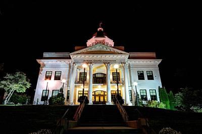 Photograph - Jackson County Courthouse by Carol Montoya