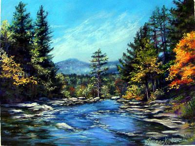 Jackson Falls New Hampshire Art Print
