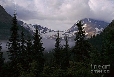 Landscape Photograph - Jackson Glacier by Sharon Elliott