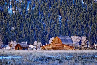 Photograph - Jackson Hole Barn by Eric Tressler