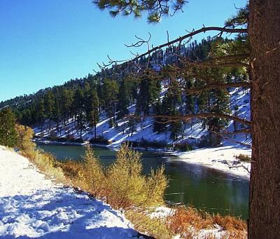 Photograph - Jackson Lake - California Winter by Glenn McCarthy Art and Photography