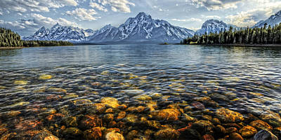 Photograph - Jackson Lake by Ken Smith