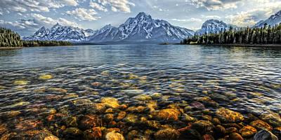 Photograph - Jackson Lake by Ken Smith