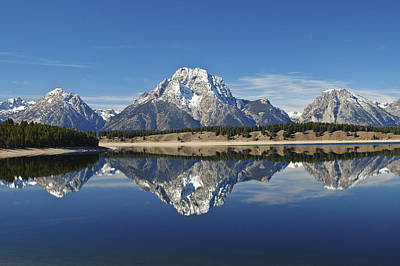 Photograph - Jackson Lake Reflection by Lee Kirchhevel