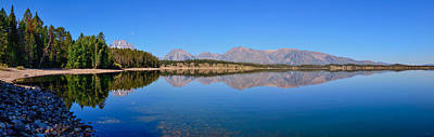 Photograph - Jackson Lake Reflections by Greg Norrell