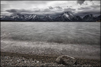 Photograph - Jackson Lake Storm by Erika Fawcett