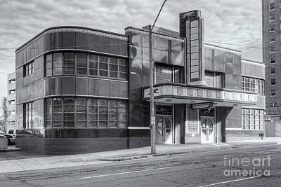 Jackson Mississippi Greyhound Bus Station Iv Art Print by Clarence Holmes
