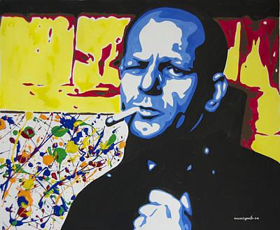 Pollack Mixed Media - Jackson Pollock by Nancy Mergybrower