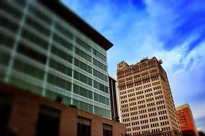 Photograph - Jackson Skyline Against Blue Sky by Jim Albritton
