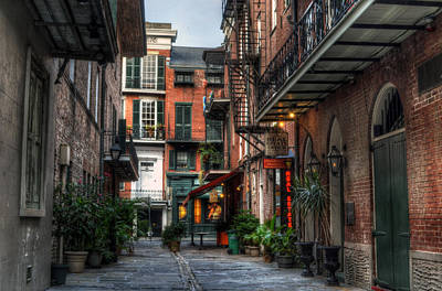 Photograph - Jackson Square Alley by Greg and Chrystal Mimbs