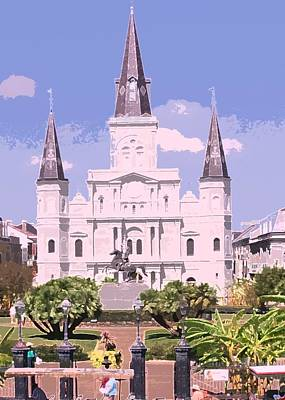 Photograph - Jackson Square by Donna G Smith
