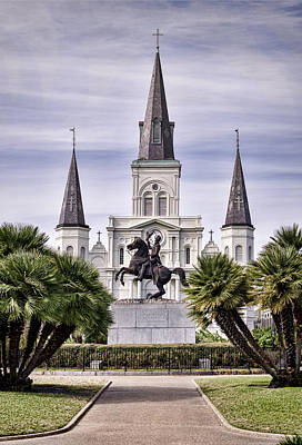 St Pauls Cathedral Photograph - Jackson Square by Heather Applegate